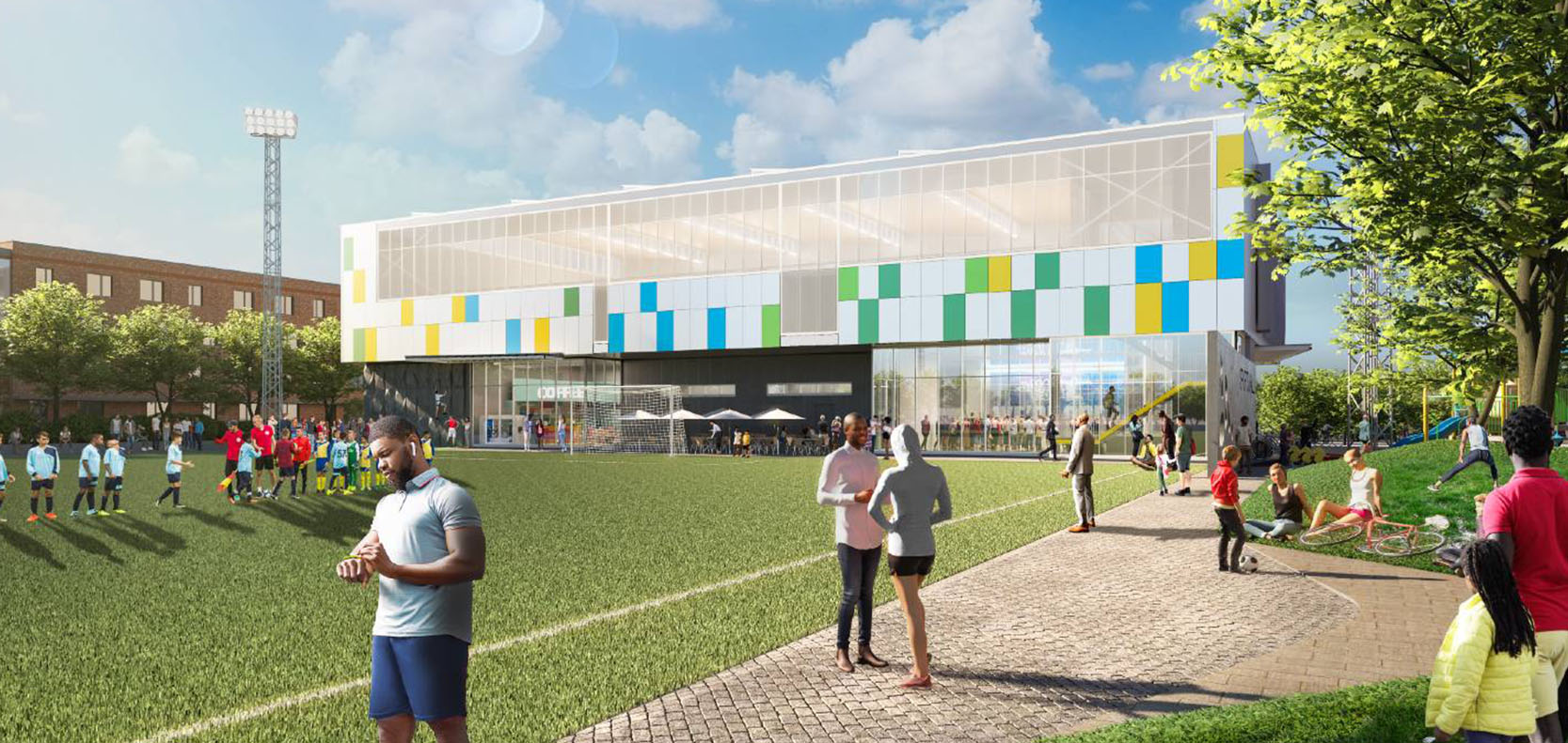 Conradie Park social housing sport fields