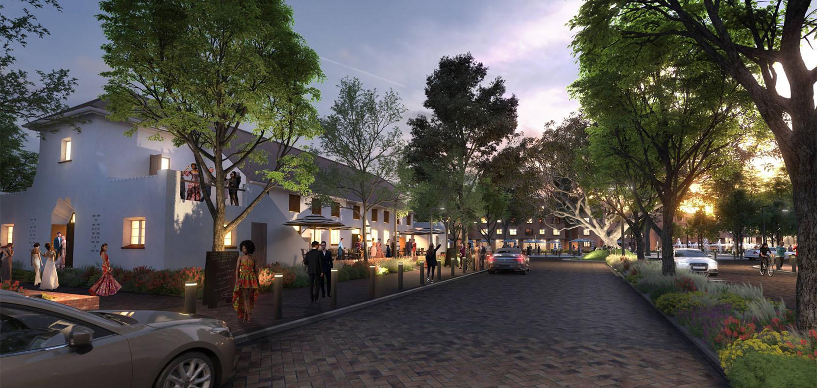 Conradie Park social housing Cape Town